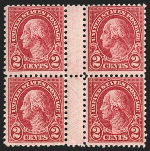 Sale Number 1217, Lot Number 1195, 1923-29 Issues (Scott 578-679)2c Carmine, Ty. II (634A), 2c Carmine, Ty. II (634A)