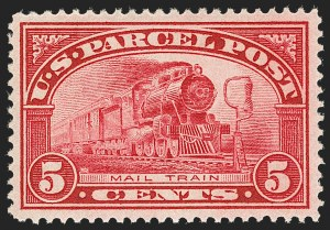 Sale Number 1217, Lot Number 1301, Parcel Post, Carriers and Locals5c Parcel Post (Q5), 5c Parcel Post (Q5)