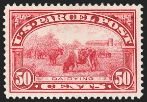 Sale Number 1217, Lot Number 1307, Parcel Post, Carriers and Locals50c Parcel Post (Q10), 50c Parcel Post (Q10)
