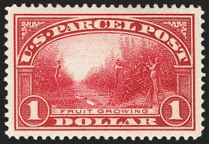 Sale Number 1217, Lot Number 1308, Parcel Post, Carriers and Locals$1.00 Parcel Post (Q12), $1.00 Parcel Post (Q12)