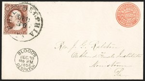 Sale Number 1217, Lot Number 549, 3c 1851-57 Issues - Shades3c Deep Brownish Carmine, Ty. I (11 var), 3c Deep Brownish Carmine, Ty. I (11 var)