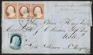 Sale Number 1217, Lot Number 631, 3c 1851-57 Issues - Carriers, Locals and Western Mails1c Blue, Ty. IV (9), 1c Blue, Ty. IV (9)