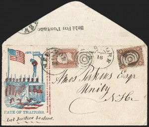 Sale Number 1217, Lot Number 632, 3c 1851-57 Issues - Civil War, Group Lots3c Brownish Carmine, Ty. III (26), 3c Brownish Carmine, Ty. III (26)