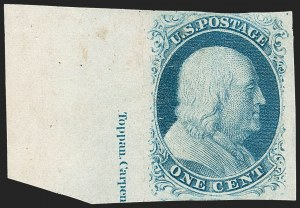 Sale Number 1217, Lot Number 704, 1c 1851-56 Issue (Scott 6-9)1c Blue, Ty. II (7), 1c Blue, Ty. II (7)