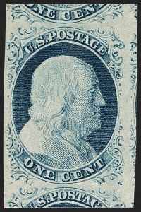 Sale Number 1217, Lot Number 710, 1c 1851-56 Issue (Scott 6-9)1c Blue, Ty. IV (9), 1c Blue, Ty. IV (9)