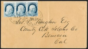 Sale Number 1217, Lot Number 715, 1c 1851-56 Issue (Scott 6-9)1c Blue, Ty. IV (9), 1c Blue, Ty. IV (9)