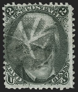 Sale Number 1217, Lot Number 850, 1867-68 Grilled Issue (Scott 79-101)2c Black, D. Grill (84), 2c Black, D. Grill (84)