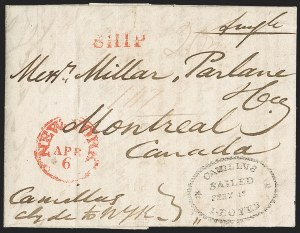 Sale Number 1218, Lot Number 2051, Great Britain to Canada,