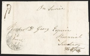 Sale Number 1218, Lot Number 2104, Other Canadian Town Markings (by Town),