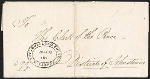 Sale Number 1218, Lot Number 2110, Other Canadian Town Markings (by Town),