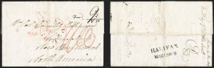 Sale Number 1218, Lot Number 2157, Mail to and from Other Countries Incoming folded letter from British forces in Egypt to St, Incoming folded letter from British forces in Egypt to St