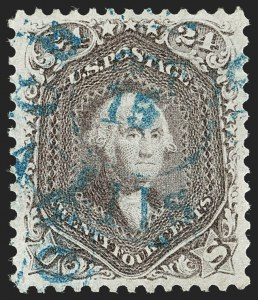 Sale Number 1219, Lot Number 188, 1861-66 Issue, cont. (Scott 67-70d)24c Red Lilac (70), 24c Red Lilac (70)