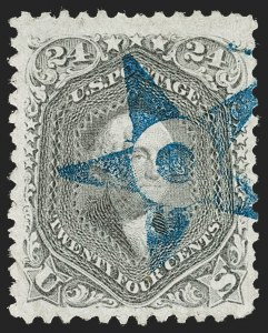 Sale Number 1219, Lot Number 226, 1861-66 Issue, cont. (Scott 75-78c)24c Grayish Lilac (78a), 24c Grayish Lilac (78a)