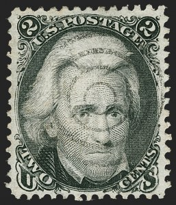 Sale Number 1219, Lot Number 231, 1867-68 Grilled Issue (Scott 79-101)2c Black, D. Grill (84), 2c Black, D. Grill (84)