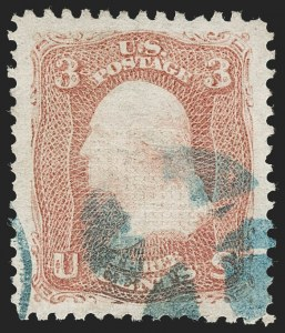 Sale Number 1219, Lot Number 240, 1867-68 Grilled Issue (Scott 79-101)3c Rose, E. Grill (88), 3c Rose, E. Grill (88)