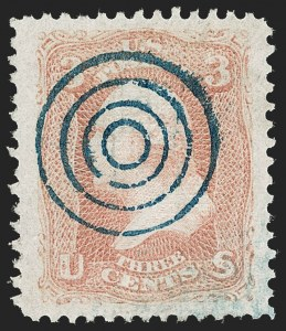 Sale Number 1219, Lot Number 248, 1867-68 Grilled Issue (Scott 79-101)3c Red, F. Grill (94), 3c Red, F. Grill (94)