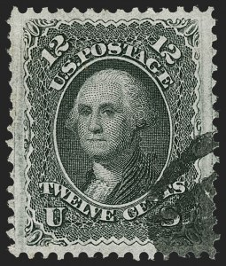 Sale Number 1219, Lot Number 253, 1867-68 Grilled Issue (Scott 79-101)12c Black, F. Grill (97), 12c Black, F. Grill (97)
