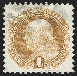 Sale Number 1219, Lot Number 270, 1c-3c 1869 Pictorial Issue (Scott 112-114)1c Buff (112), 1c Buff (112)
