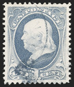 Sale Number 1219, Lot Number 393, 1881-87 American Bank Note Co. Issues (Scott 205-218)1c Gray Blue (206), 1c Gray Blue (206)