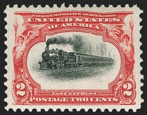 Sale Number 1219, Lot Number 504, 1901 Pan-American Issue (Scott 294-299)2c Pan-American (295), 2c Pan-American (295)