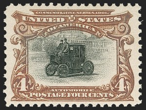 Sale Number 1219, Lot Number 505, 1901 Pan-American Issue (Scott 294-299)4c Pan-American (296), 4c Pan-American (296)