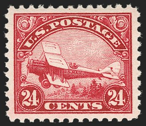 Sale Number 1219, Lot Number 523, Air Post24c Carmine, 1923 Air Post (C6), 24c Carmine, 1923 Air Post (C6)