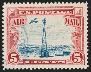 Sale Number 1219, Lot Number 533, Air Post5c Beacon, Air Post (C11), 5c Beacon, Air Post (C11)