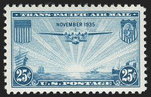 Sale Number 1219, Lot Number 546, Air Post25c Trans-Pacific, Air Post (C20), 25c Trans-Pacific, Air Post (C20)