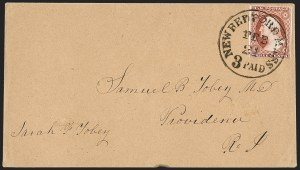 Sale Number 1219, Lot Number 71, 3c 1851 Issue (Scott 10-11A)3c Brownish Carmine, Ty. II (11A), 3c Brownish Carmine, Ty. II (11A)