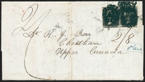 Sale Number 1220, Lot Number 1, Great BritainGREAT BRITAIN, 1840, 1p Black (1; SG 2), GREAT BRITAIN, 1840, 1p Black (1; SG 2)
