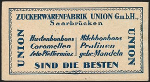 Sale Number 1220, Lot Number 329, German Area and Colonies thru HungarySAAR, 1924, 4fr Unexploded Booklet of Three Panes (Michel MH1), SAAR, 1924, 4fr Unexploded Booklet of Three Panes (Michel MH1)
