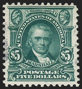 Sale Number 1221, Lot Number 1073, Specimens1c-$5.00 1902 Issue, Specimen Overprint Ty. E (300-313S-E), 1c-$5.00 1902 Issue, Specimen Overprint Ty. E (300-313S-E)