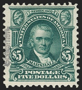 Sale Number 1221, Lot Number 1074, Specimens1c-$5.00 1902 Issue, Specimen Overprint Ty. E (300-313S-E), 1c-$5.00 1902 Issue, Specimen Overprint Ty. E (300-313S-E)