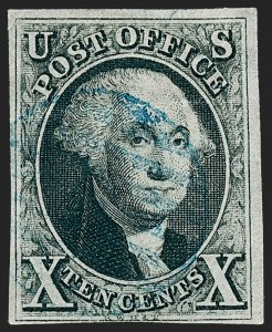Sale Number 1221, Lot Number 1085, 1847 Issue and 1875 Reproduction (Scott 1-4)5c-10c New York Provisional, 1847 Issues (9X1, 1-2), 5c-10c New York Provisional, 1847 Issues (9X1, 1-2)