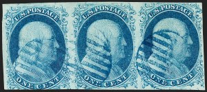 Sale Number 1221, Lot Number 1096, 1851-56 Issue (Scott 5-17)1c Blue, Ty. II (7), 1c Blue, Ty. II (7)
