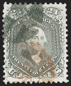 Sale Number 1221, Lot Number 1171, 1861-66 Issue (Scott 56-78)24c Gray (78b), 24c Gray (78b)
