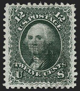 Sale Number 1221, Lot Number 1188, 1867-68 Grilled Issue (Scott 79-101)12c Black, E. Grill (90), 12c Black, E. Grill (90)