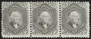 Sale Number 1221, Lot Number 1198, 1867-68 Grilled Issue (Scott 79-101)24c Gray Lilac, F. Grill (99), 24c Gray Lilac, F. Grill (99)