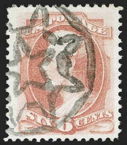 Sale Number 1221, Lot Number 1313, 1870-73 National & Continental Issues (Scott 145-166)6c Dull Pink (159), 6c Dull Pink (159)
