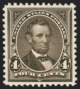 Sale Number 1221, Lot Number 1391, 1894-98 Bureau Issues (Scott 246-284)4c Dark Brown (269), 4c Dark Brown (269)