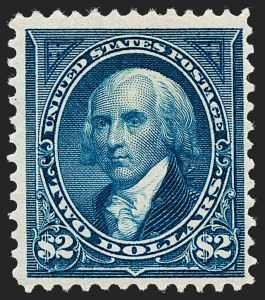 Sale Number 1221, Lot Number 1397, 1894-98 Bureau Issues (Scott 246-284)$2.00 Bright Blue (277), $2.00 Bright Blue (277)