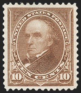 Sale Number 1221, Lot Number 1400, 1894-98 Bureau Issues (Scott 246-284)10c Brown, Ty. I (282C), 10c Brown, Ty. I (282C)