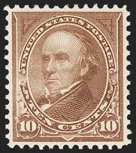 Sale Number 1221, Lot Number 1401, 1894-98 Bureau Issues (Scott 246-284)10c Brown, Ty. I (282C), 10c Brown, Ty. I (282C)