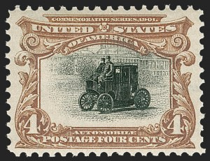 Sale Number 1221, Lot Number 1439, 1901 Pan-American Issue (Scott 294-299)4c Pan-American (296), 4c Pan-American (296)