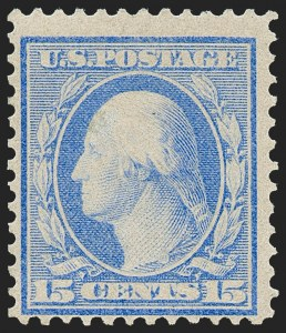 Sale Number 1221, Lot Number 1473, 1908-12 Washington-Franklin and Commemorative Issues (Scott 331-396)6c Red Orange, 15c Pale Ultramarine, Bluish (362, 366), 6c Red Orange, 15c Pale Ultramarine, Bluish (362, 366)