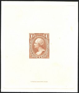 Sale Number 1221, Lot Number 1727, Revenues, Essays and Proofs1c-6c Proprietary, Large Die Trial Color Proofs on India (RB11TC1/RB17TC1), 1c-6c Proprietary, Large Die Trial Color Proofs on India (RB11TC1/RB17TC1)
