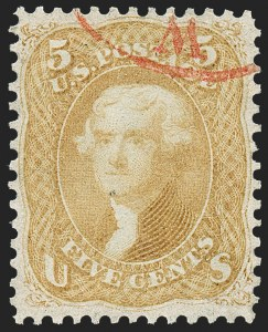 Sale Number 1221, Lot Number 1846, Group Lots (most with website PDF scans)1c-90c 1861-68 Issues, Balance (63/101), 1c-90c 1861-68 Issues, Balance (63/101)