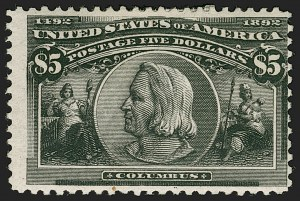 Sale Number 1221, Lot Number 1857, Group Lots (most with website PDF scans)$1.00-$5.00 Columbian (241-242, 244a, 245), $1.00-$5.00 Columbian (241-242, 244a, 245)