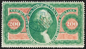 Sale Number 1222, Lot Number 2037, First Issue, cont. (R74 thru R102)$200.00 U.S.I.R., Perforated (R102c), $200.00 U.S.I.R., Perforated (R102c)