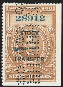 "Sale Number 1222, Lot Number 2091, Stock Transfer (RD)$30.00-$100.00 ""Series 1940"" Handstamped Ovpt., Stock Transfer (RD61-RD64), $30.00-$100.00 ""Series 1940"" Handstamped Ovpt., Stock Transfer (RD61-RD64)"